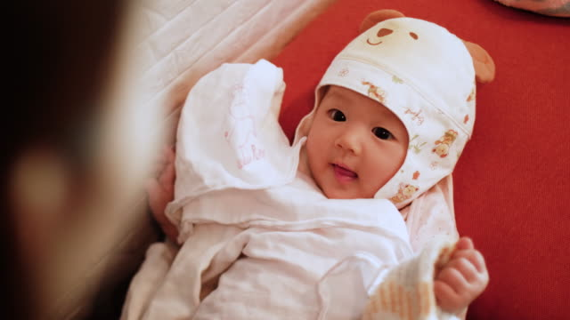 Asian Baby Girl Are So Very Cute video