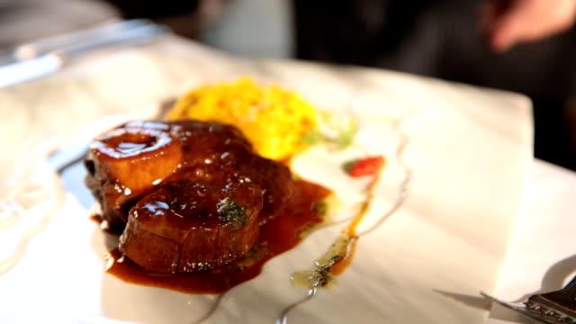 Asian food video