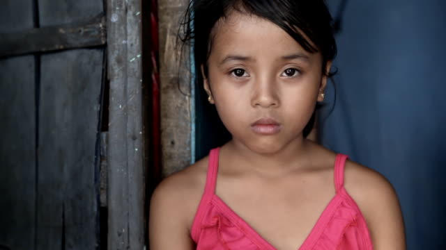 Asian girl portrait video