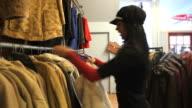 Asian Girl Shopping video