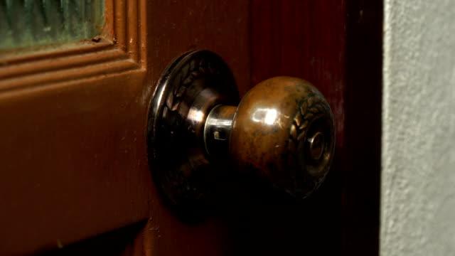 asian man open the door video