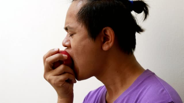 Asian men have gum problems. video