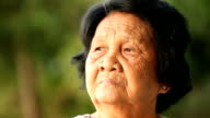 asian senior woman video