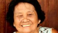 asian senior woman video