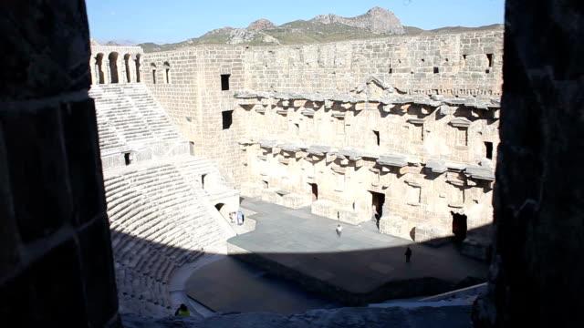 HD: Aspendos Theather & Historical & Turkey video