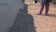 Asphalt Road Construction video