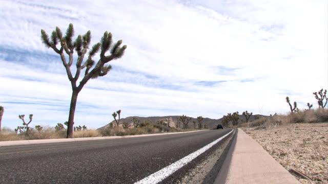 Assortment of Automobiles on Desert Highway video