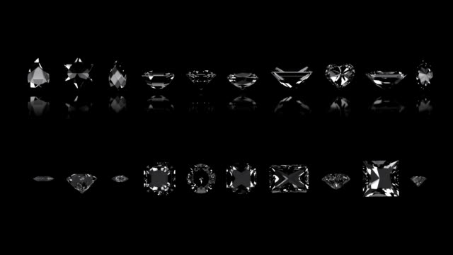 Assortment of Diamond Cuts video
