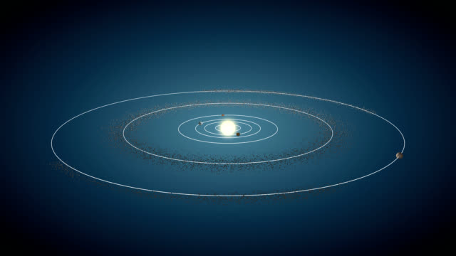 Asteroid Belt & Jupiter video