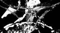UNTAMED VIEW : asteroid crystallization - dark (LOOP) video