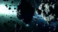Asteroid Field video