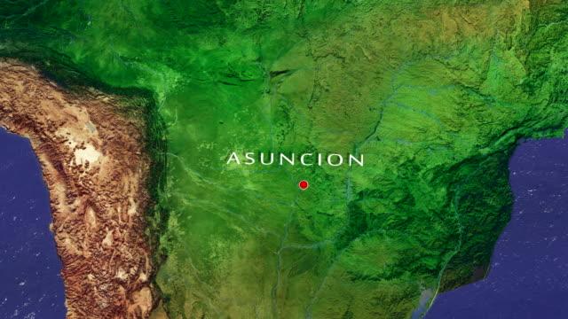 Asuncion 4K  Zoom In video