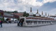 At kumbum monastery pilgrimage video