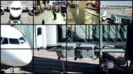 At the airport - Montage video