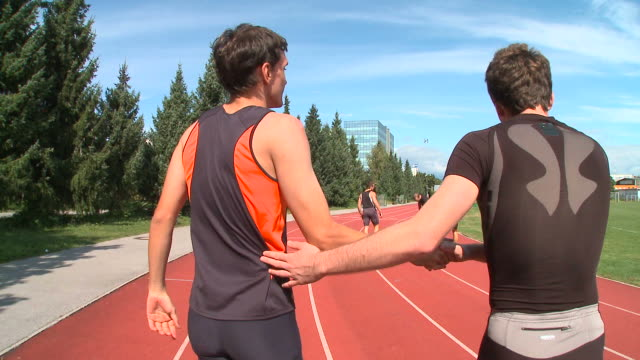 HD STEADYCAM: At The Finishing Line video