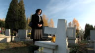 at the grave video