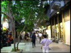 Athens: Plaka Tourist District.  Greece video