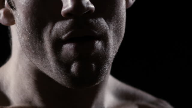 Athlete puts in his mouth piece video
