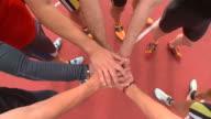 HD CRANE: Athletes video