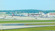 Atlanta Airport Activity Timelapse video