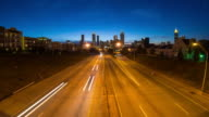 Atlanta Cityscape Time Lapse video
