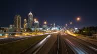 Atlanta Cityscape Time Lapse Zoom video