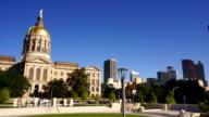 Atlanta Georgia State Capital Gold Dome City Architecture video