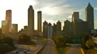 Atlanta Sunset Time Lapse video