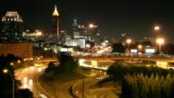 Atlanta Time-Lapse HD video