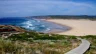 Atlantic beach Carrapateira video
