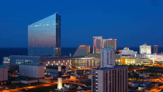 Atlantic City Timelapse video