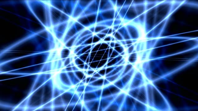 atom blue orbit 4k video