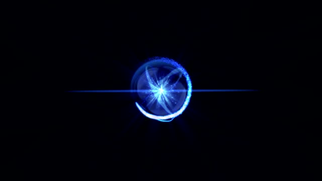 Atom Particle video