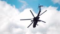 Attack helicopter 'Night Hunter' Mi-28 video