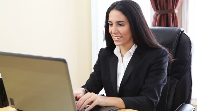 Attractive Business Woman video