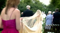 Attractive couple getting married video