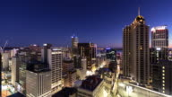 Auckland City Centre at Dawn - Time Lapse video