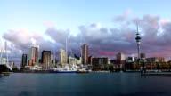 Auckland City Skyline video