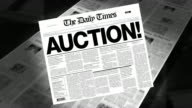 Auction! - Newspaper Headline (Intro + Loops) video