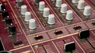 Audio production console video