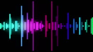 audio spectrum pixel style video
