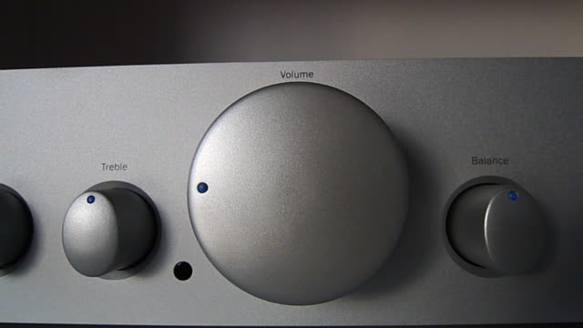 Audio volume video