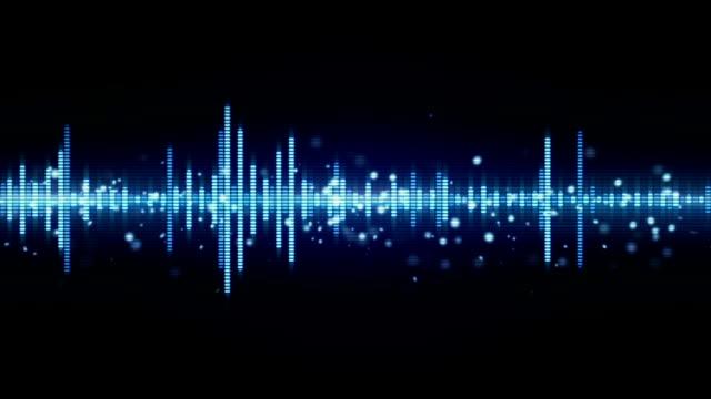 audio waveform equalizer seamless loop video