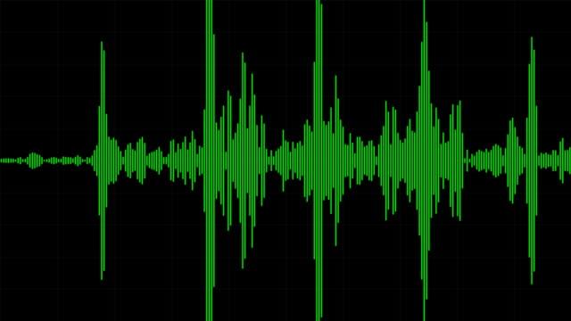 Audio Waveform / Spectrum video