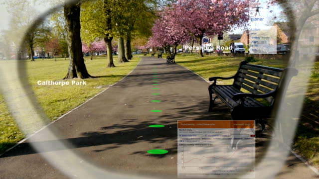 Augmented Reality Glasses. video