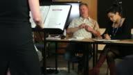 Aural examination video