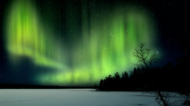 Aurora Borealis - Northern lights video