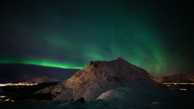 TIME LAPSE: Aurora Borealis video