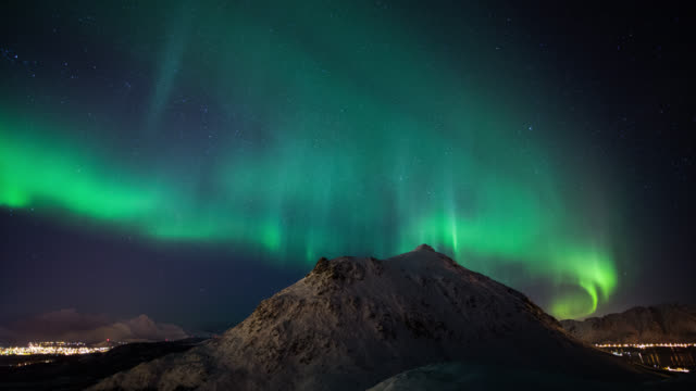 TIME LAPSE: Aurora Borealis video