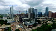 Austin New Construction of Jenga Tower and the New NorthShore Building video